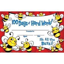100 Days Of Hard Work Bee