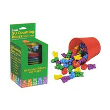 <strong>Eureka!</strong> Counting Bear Cups 50 Ct Bears 5