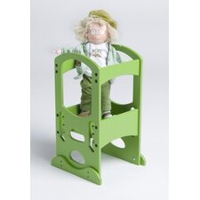 Toy Tower in Apple Green