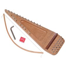 Twenty String Cherry Bowed Psaltery