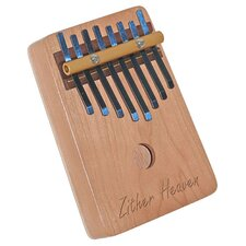 <strong>Zither Heaven</strong> Eight Note Cherry Thumb Piano