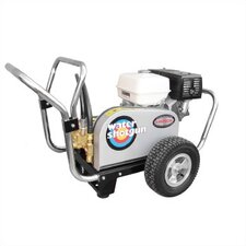 Water Shotgun 3500 PSI Cold Water Gas Powered Pressure Washer w/ Honda Engine (Belt Drive)