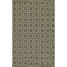 Radiance Intersect Pewter Rug