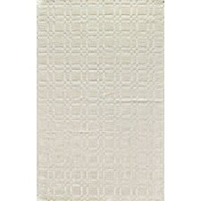 Radiance Intersect White Rug