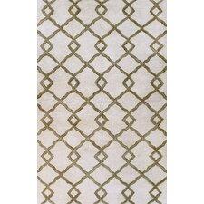 Greenwich Modern Lozenge Ivory Rug