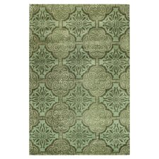 Chelsea Green Floral Sun Rug