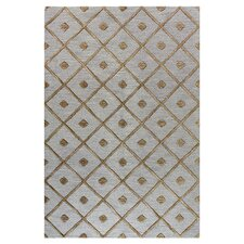 Verona Slate Diamond Lattice Rug