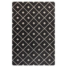 <strong>Bashian Rugs</strong> Verona Black Diamond Lattice Rug
