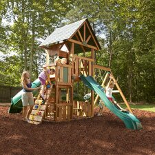 Southampton Wood Complete Swing Set