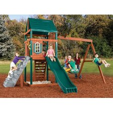 Brentwood Wood Complete Swing Set