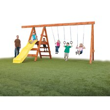 <strong>Swing-n-Slide</strong> Ready to Build Custom Pioneer DIY Swing Set Hardware Kit - Project 150