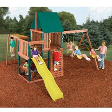 <strong>Swing-n-Slide</strong> Chesapeake Wood Complete Swing Set