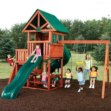 <strong>Swing-n-Slide</strong> Southampton Wood Complete Swing Set