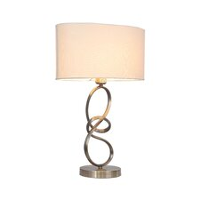 "Journey 22"" H Table Lamp with Oval Shade"