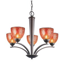 <strong>Woodbridge Lighting</strong> North Bay 5 Light Chandelier