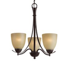 <strong>Woodbridge Lighting</strong> Kearney 3 Light Chandelier