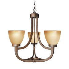 <strong>Woodbridge Lighting</strong> Wayman 3 Light Chandelier