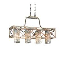 Braid 4 Light Chandelier