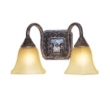 <strong>Woodbridge Lighting</strong> Basic 2 Light Bath Vanity Light