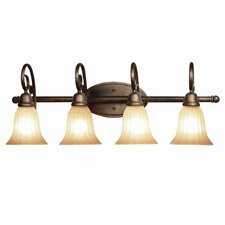 Clifton 4 Light Bath Vanity Light