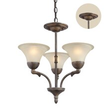 <strong>Woodbridge Lighting</strong> Darien 3 Light Chandelier