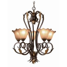<strong>Woodbridge Lighting</strong> Harrington 5 Light Chandelier