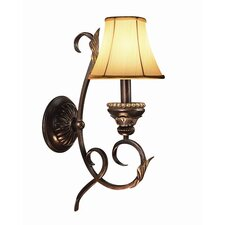 <strong>Woodbridge Lighting</strong> Harrington 1 Light Wall Sconce