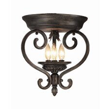 <strong>Woodbridge Lighting</strong> Hawthorne 3 Light Flush Mount