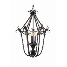 <strong>Woodbridge Lighting</strong> Rosedale 3 Light Foyer Pendant