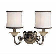 <strong>Woodbridge Lighting</strong> Mayfield 2 Light Wall Sconce
