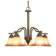 <strong>Woodbridge Lighting</strong> Morgan Park 5 Light Chandelier