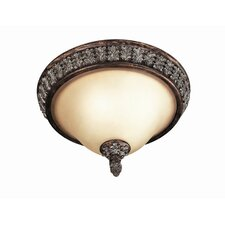 Worthington 2 Light Flush Mount