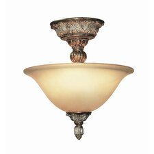 Worthington 2 Light Semi Flush Mount