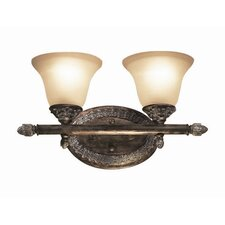 Worthington 2 Light Bath Vanity Light