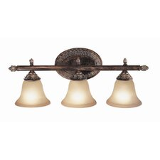 Worthington 3 Light Bath Vanity Light