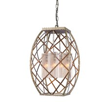<strong>Woodbridge Lighting</strong> Braid 4 Light Foyer Pendant
