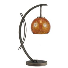 "Eclipse 21.75"" H Table Lamp with Bowl Shade"