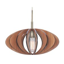 <strong>Woodbridge Lighting</strong> Canopy 1 Light Pendant
