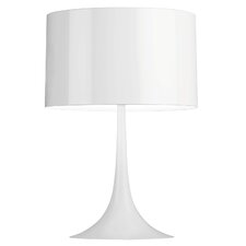 "Spun Light 26.77"" H Table Lamp with Drum Shade"