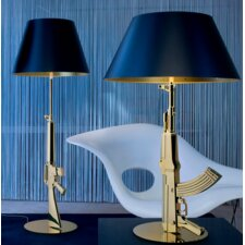 Gun Table Lamp Empire Shade
