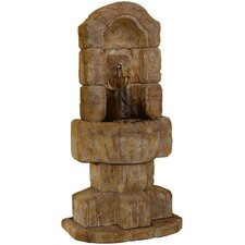 <strong>Henri Studio</strong> Wall Cast Stone Granada Lavabo Fountain