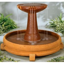 <strong>Henri Studio</strong> Centerpiece Stone Overflowing Spill Dish Cascade Fountain
