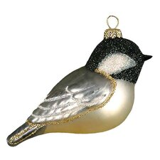 Capped Chickadee Ornament