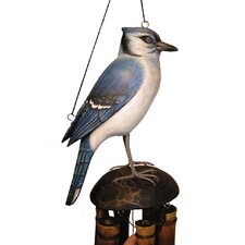 Blue Jay Wind Chime