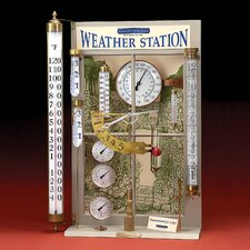 Weather Station Display Large Thermometer Set