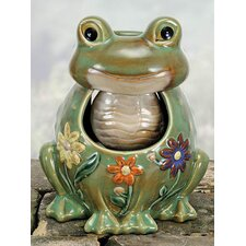 Porcelain Frog Fountain