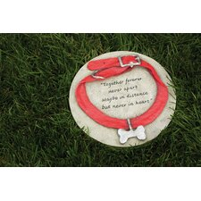Garden Stone Decor Dog Collar