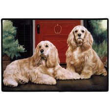 Cocker Spaniel Porch Doormat