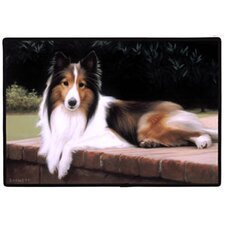 Sheltie Porch Doormat