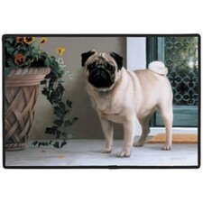 Pug Porch Doormat